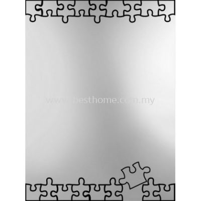 SQUARE CRYSTAL MIRROR M4568 / TR-BA-MR-01219