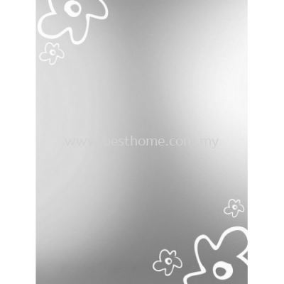 SQUARE CRYSTAL MIRROR M4569 / TR-BA-MR-01220