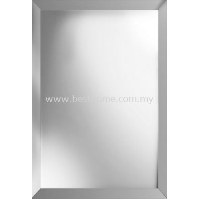 SQUARE MIRROR WITH ALUMINIUM FRAME M4560-FRAME / TR-BA-MR-03450