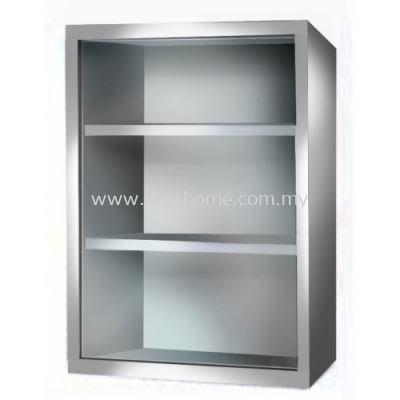 TORA STAINLESS STEEL CABINET WITH FROSTED GLASS M7001 / TR-BA-MC-01245-PL