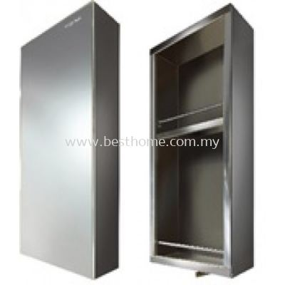 STAINLESS STEEL MIRROR CABINET M6001 / TR-BA-MC-02747-PL
