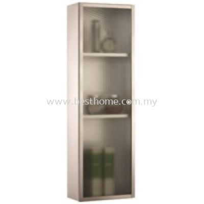 TORA STAINLESS STEEL GLASS CABINET M6112E / TR-BA-MC-04959