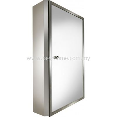 STAINLESS STEEL MIRROR CABINET B2106 / TR-BA-MC-01365-PL