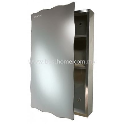 STAINLESS STEEL MIRROR CABINET 6033 / TR-BA-MC-01776