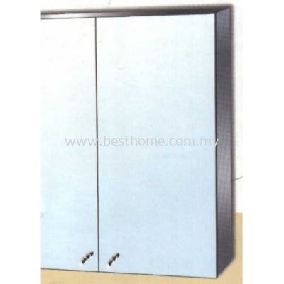 STAINLESS STEEL MIRROR CABINET M6218 / TR-BA-MC-01240-PL