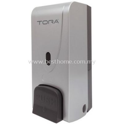 TORA SINGLE WALL MOUNTED SOAP DISPENSER SD3215-SILVER / TR-BA-SPD-01303-SV