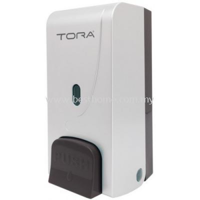 TORA SINGLE WALL MOUNTED SOAP DISPENSER SD3215-WHITE / TR-BA-SPD-01304-WW