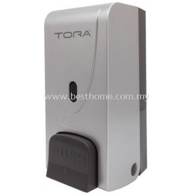 TORA SINGLE WALL MOUNTED SOAP DISPENSER SD3216-SILVER / TR-BA-SPD-01305-SV