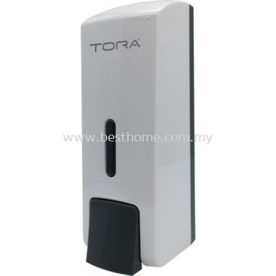 TORA SINGLE WALL MOUNTED SOAP DISPENSER SD3217-WHITE / TR-BA-SPD-01307-WW