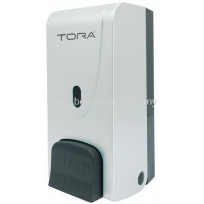 TORA SINGLE WALL MOUNTED SOAP DISPENSER SD3216-WHITE / TR-BA-SPD-01306-WW