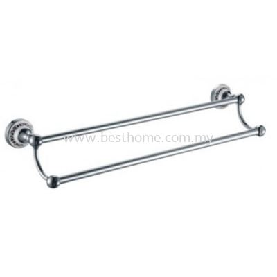 VIENTO SERIES DOUBLE TOWEL BAR TR-BA-TLB-06472-CH
