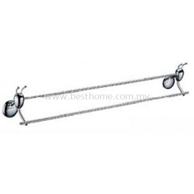 ANTHILL ANTZ SERIES DOUBLE ROD TOWEL BAR AN103(KA103)-POLISH / AH-BA-TLB-00873-PL