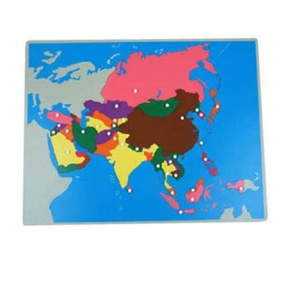 KG015 Puzzle Map of Asia