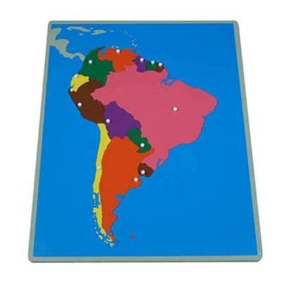 KG008 Puzzle Map of South America