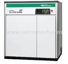 Hitachi Hiscrew Next II Series Oil Free Screw Compressor Fixed Speed Model