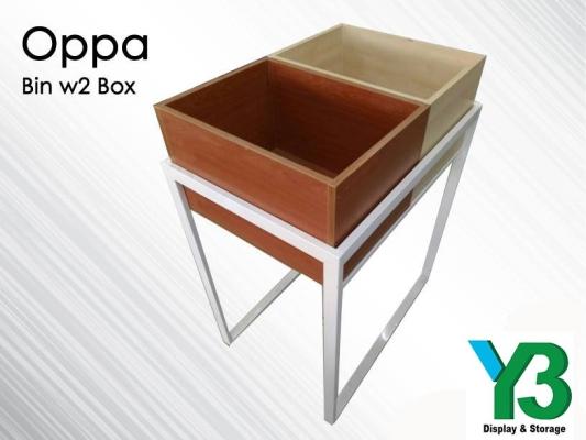 230261-OPPA BIN C/W 2 BOX