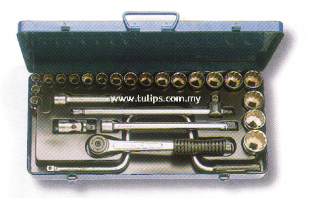 "ACESA 1/2"" DR Socket Set"
