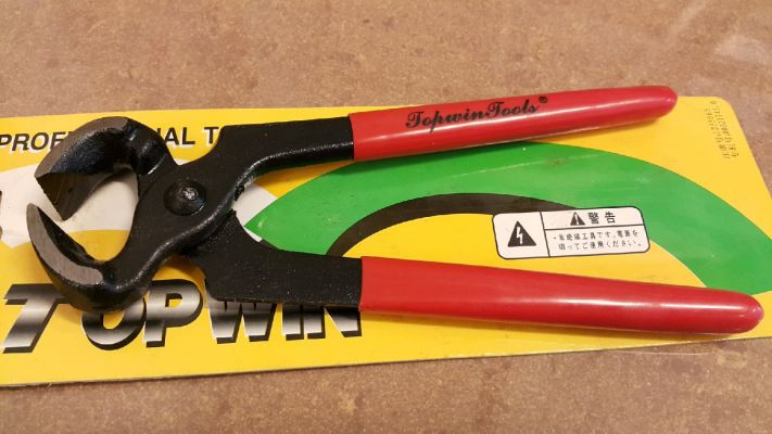 "7"" TQ105 CARPENTER'S PLIER ID221552"