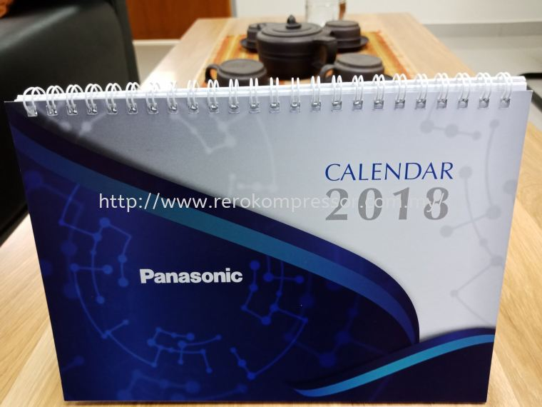 THANKS TO PANASONIC FOR THE 2018 CALENDAR