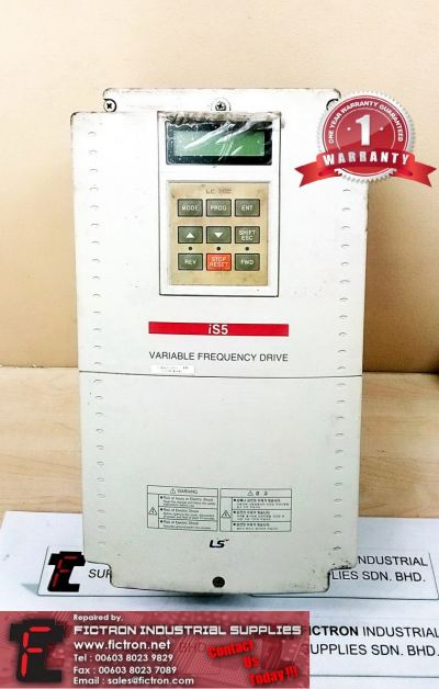 SV075iS5-4N SV075iS54N LS iS5 VARIABLE FREQUENCY DRIVE INVERTER REPAIR IN MALAYSIA 12 MONTHS WARRANTY
