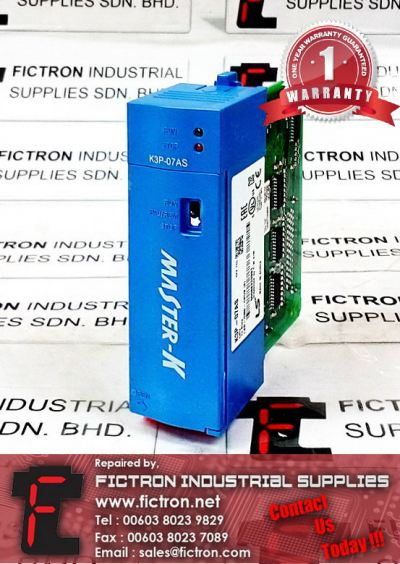 K3P-07AS K3P07AS LS MASTER-K PROGRAMMABLE LOGIC CONTROLLER REPAIR IN MALAYSIA 12 MONTHS WARRANTY