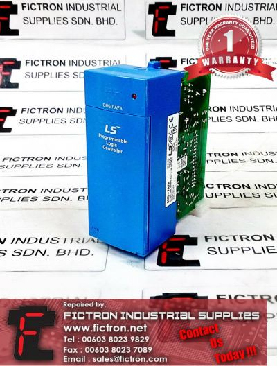 GM6-PAFA GM6PAFA LS PROGRAMMABLE LOGIC CONTROLLER REPAIR SERVICE IN MALAYSIA 12 MONTHS WARRANTY