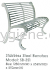 SB-351  - S/Steel Benches Benches Others