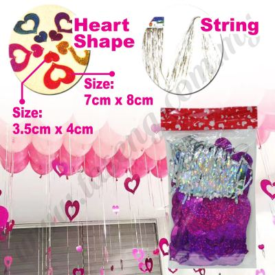 Decorative String Love Shape -Pink (P-AC-S1P)