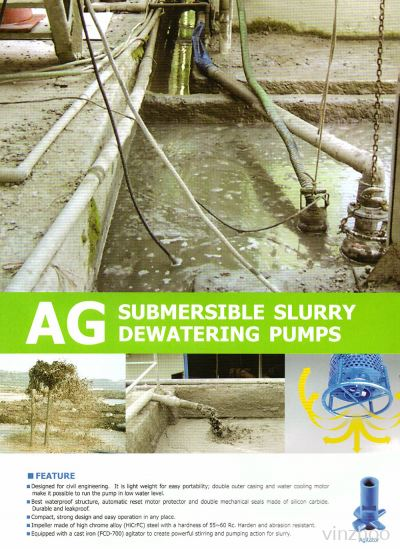 Submersible Slurry Dewatering Pumps (AG Series)