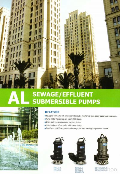Sewage & Effluent Submersible Pumps (AL Series)