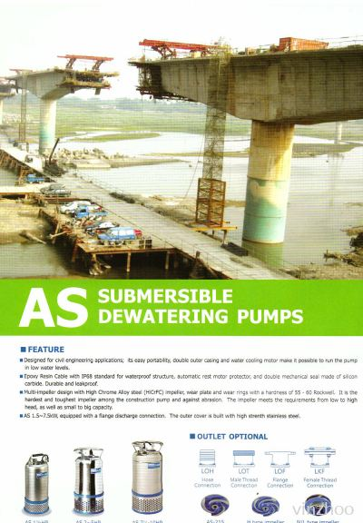 Submersible Dewatering Pumps (AS Series)