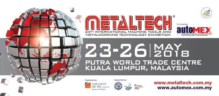 METALTECH 2018 May 2018 Year 2018 Past Listing