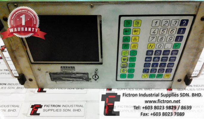 270M350-90 270M35090 ARBURG MULTRONICA CONTROL PANEL REPAIR SERVICE IN MALAYSIA 12 MONTHS WARRANTY