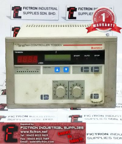 TC900V NIRECO TENSION CONTROLLER REPAIR SERVICE IN MALAYSIA 12 MONTHS WARRANTY