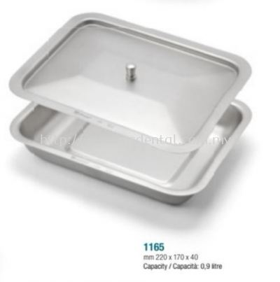 1165 Instrument Tray with Lid