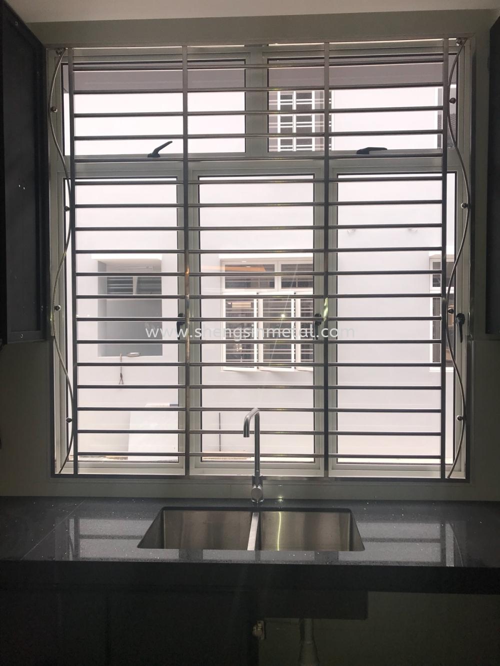 Window Stainless Steel Johor Bahru, JB, Skudai, 仟表 Design, Installation, Supply | Sheng Sin Metal Work & Enterprise