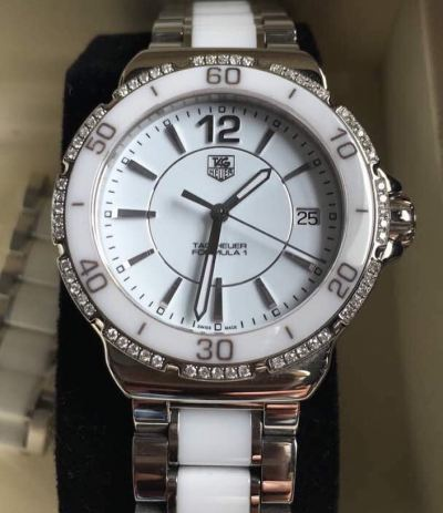 (SOLD) Tag Heuer Ladies Diamond Watch