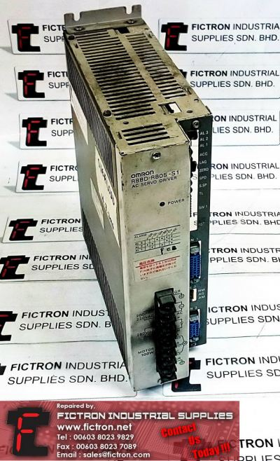 R88D-RB05-S1 R88DRB05S1 OMRON AC SERVO DRIVER REPAIR SERVICE IN MALAYSIA 12 MONTHS WARRANTY