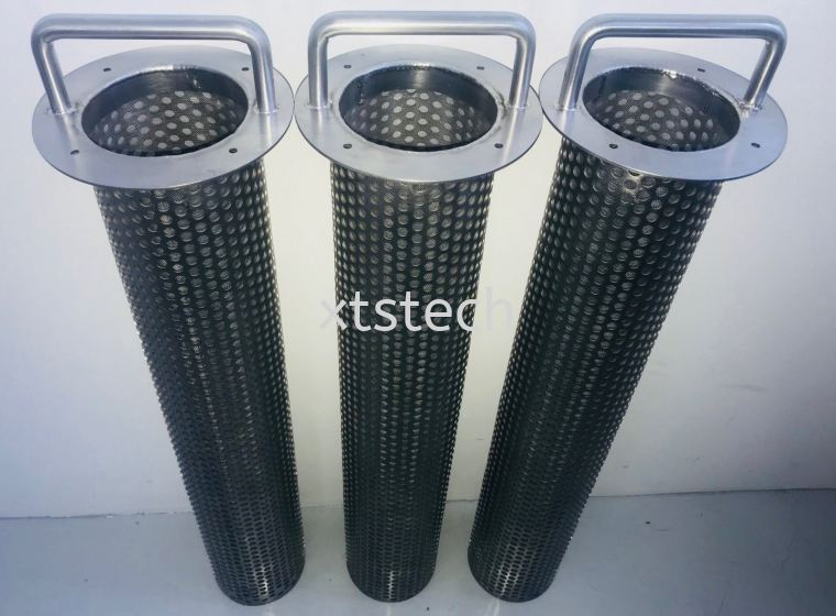 Fine Mesh Filter for Oil and Gas Pressure Vessel Strainer