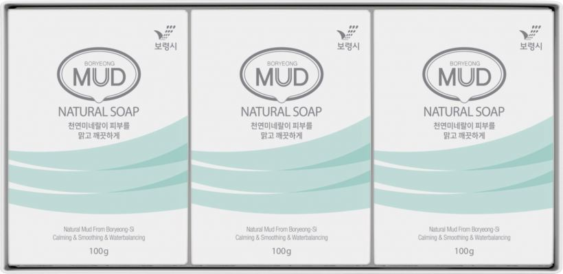 Boryeong Mud Beauty Soap (AM / PM)