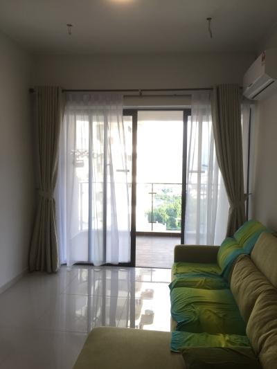 金海湾公寓窗帘
