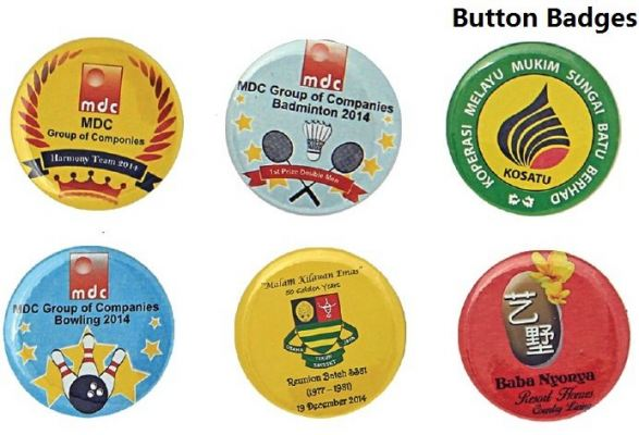Button Badges (Make to Order)