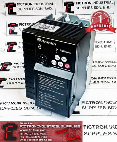 SS2-043-3.7K SS204337K SHIHLIN INVERTER DRIVE REPAIR SERVICE IN MALAYSIA 12 MONTHS WARRANTY