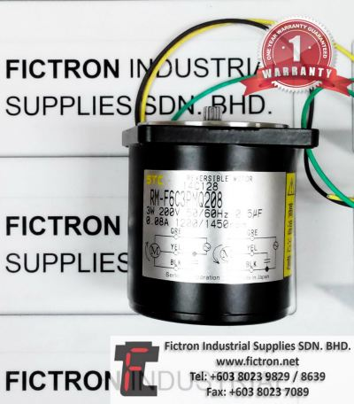 RM-F6C3PMQ208 RMF6C3PMQ208 STC REVERSIBLE MOTOR REPAIR SERVICE IN MALAYSIA 12 MONTHS WARRANTY