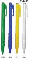 Y 4411 Plastic Pen Writing Instruments