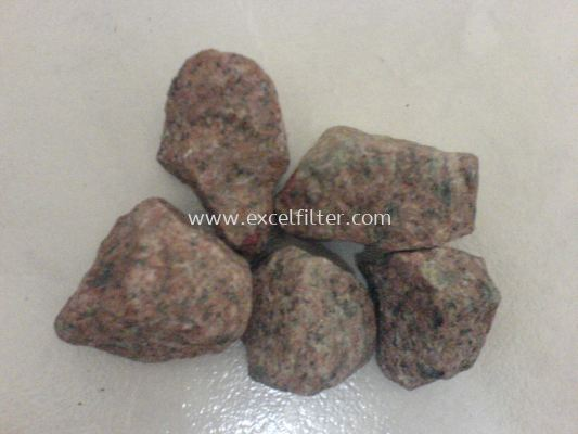 Mineral red Flower Stone (Korea)