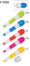 Y 5556 Plastic Pen Writing Instruments