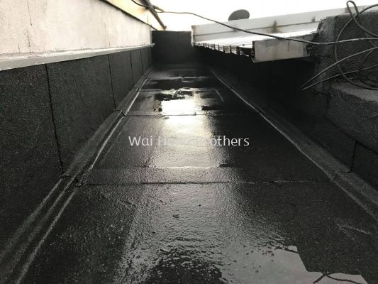 Torch on membrane waterproofing services