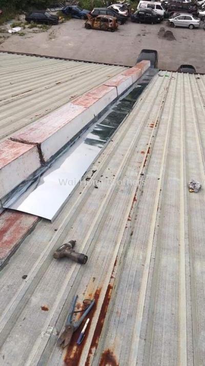 Roofing metal brake services