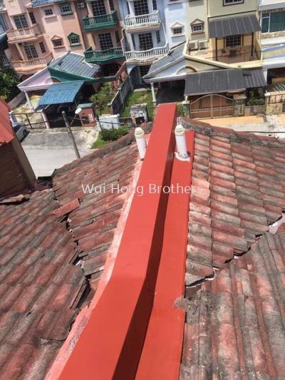 Roofing metal break services